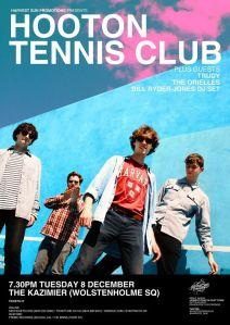 Hooton Tennis Club at The Kazimier